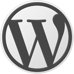WordPress Official Logo, click for site.