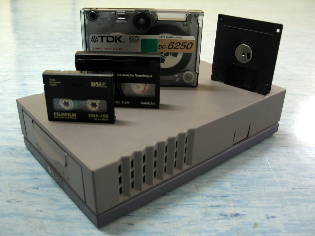 Backup Tape Drive