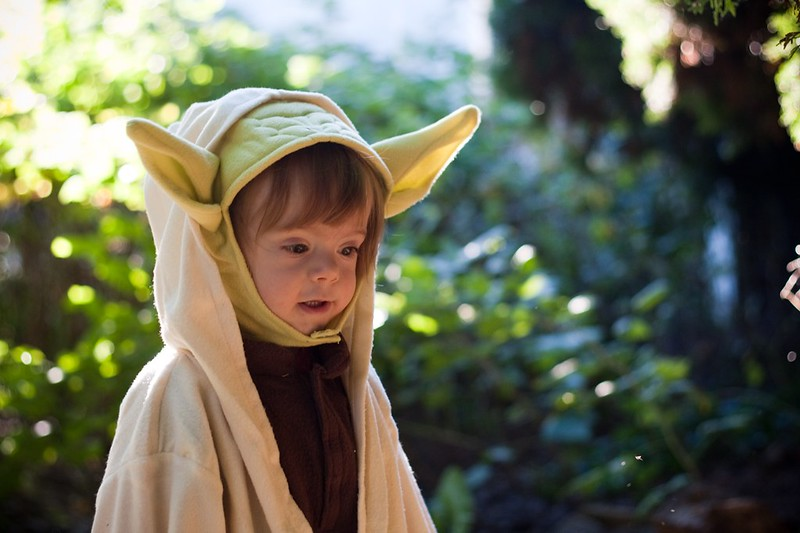 """young jedi master tess"" Flickr image by https://www.flickr.com/photos/ohoski/"